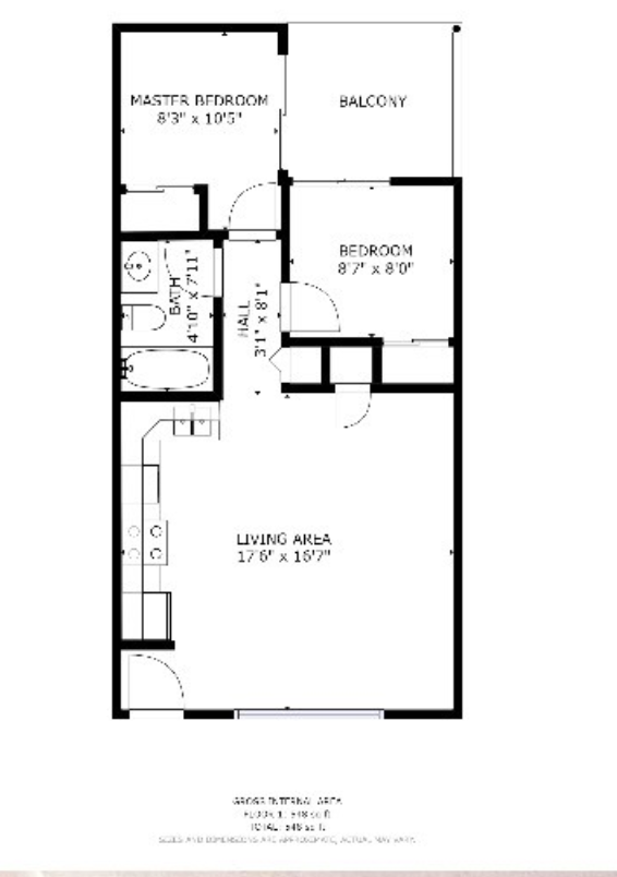 Floor Plan at 508 East Clark